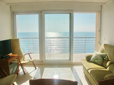 Photo for Large and comfortable apartment in Moraira, on the Costa Blanca, Spain for 6 persons