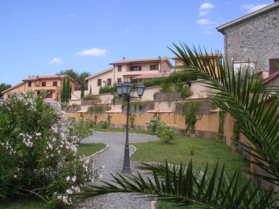 Photo for Apartment in terraced house with terrace and panoramic view, 3 room 6 persons