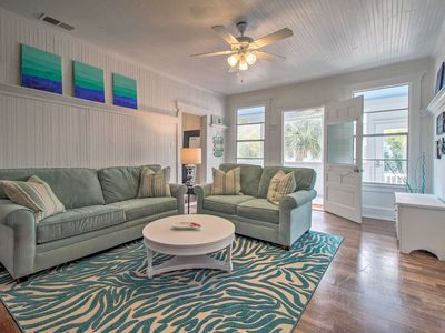 Photo for NEW! Tybee Island Apt - Walk to South Beach & More