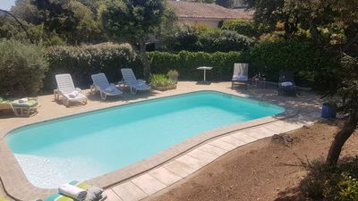 Photo for Maisonette cottage with pool in Eygalières 6 people alpine nature park