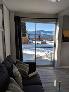 Photo for Suite overlooking Okanagan Lake with pool access.