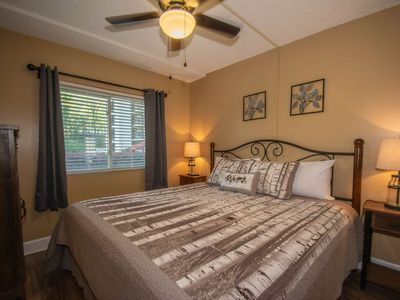 Photo for Chateau #107 Walking Distance Downtown Gatlinburg Newly Remodeled, 2 King Beds, Gas Fireplace, Patio