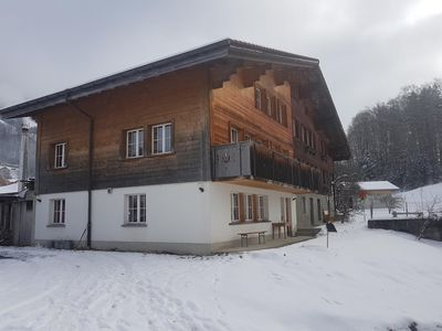Photo for Holiday apartment Hasliberg Reuti for 4 - 9 persons with 4 bedrooms - Holiday apartment