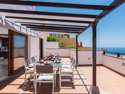 Photo for 2.Charming Villa,Huge Terraces,Pool,Garden,SeaView