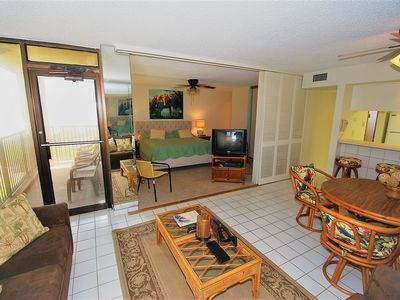 Photo for Three bedroom, two bath condo. right on the beach