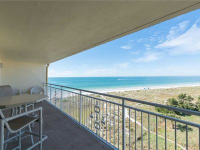 Photo for Top Floor Sweeping Views from this John's Pass Area Unit - Updated Kitchen & Baths - Free Wifi