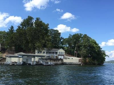 Photo for Mellor's House-Awesome view, Waterfront house, Boat dock with water play area!