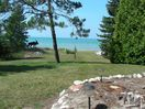 view from the cottage of Lake Michigan