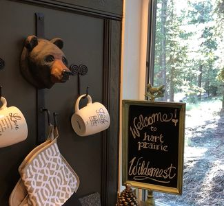 Hart Prairie Widernest A Romantic, Rustic-Luxury, Off Grid, Mountain, Tiny Cabin
