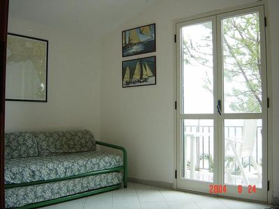 Photo for Lovely terraced house on the sea with spectacular view on the gulf of Policastro