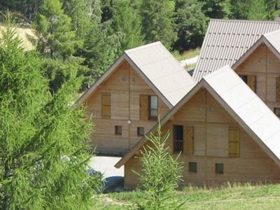 Photo for Chalets close to the village with swimmingpool and sauna