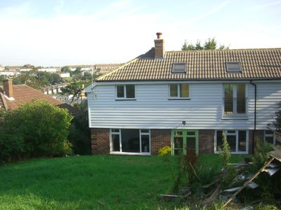Photo for Large detached house near town centre, country park and clifftops