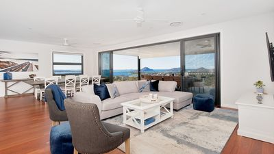 Photo for Hilltop Hideaway - Breathtaking views, moments to beach! FREE FAMILY ADVENTURE PASS