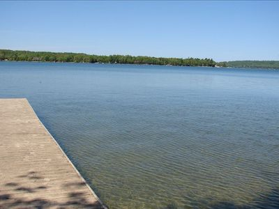 Photo for Direct N Lake Leelanau. Great rates! Sunset view! Central location! 2B, 2B