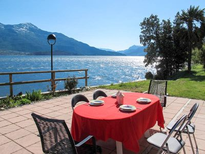 Photo for Apartment in Gera Lario (CO), Lake Como - 6 persons, 2 bedrooms