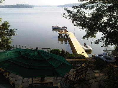 Photo for Charming Lakefront Cabin And Guest Cottage With Spectacular View