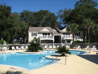 1 of 2 Ocean Walk pools. Perfectly maintained always!  And heated!