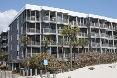 Pelican's Landing Oceanfront Building.Our Condo Located Top Floor Lt Hand Corner