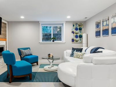 Photo for Unwind at a Modern Kirkland Suite