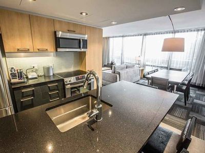 Photo for Chateau Mont-Sainte-Anne -Two-Bedroom Espace Nordik Condo (2S)