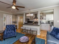 Worry free lodging in a thoughtfully furnished and like-new apartment