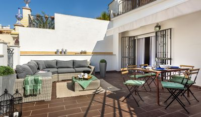 Photo for Great 3 BD Duplex with a wonderful private Terrace. Francos Terrace V