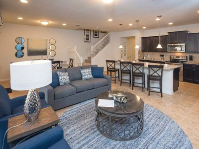 Photo for Beautiful 5 BR townhome with pool in Windsor at Westside.