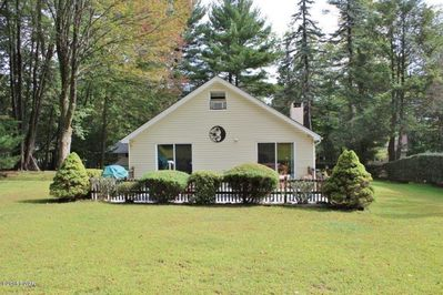 1/4 acre of open beautiful space surrounded by large trees.