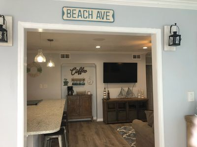 Photo for Just remodeled condo by the pool, 2 tennis courts a walk distance to the beach!