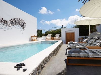 Photo for Aemiliana Villa, our beautiful 5-bedroom Santorini villa. Contact us today for best rates!