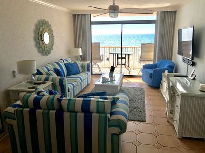 Photo for The Sun Sets Just for You from this Beautiful BEACHFRONT Condo!