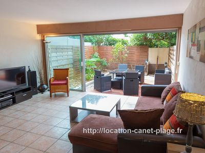 Photo for The 402 - Very nice house 3 stars, 6 pers. with garage, beach at 150m.