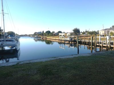Photo for 3BR/2BA Waterfront Home 1 Minute Away From Open Water