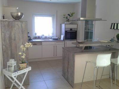 Photo for Holiday with dog, about 350m to the beach, fireplace, wireless internet, fenced
