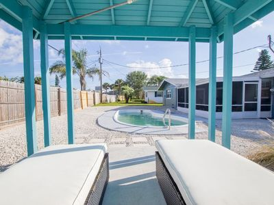Photo for A relaxing get away 3 blocks from the beach