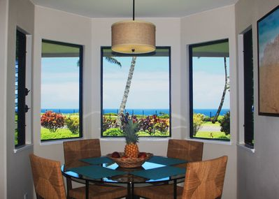 Enjoy breakfast while taking in magnificent Ocean views!
