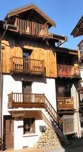 Photo for Self catered chalet in traditional, 3 valleys mountain village