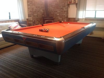 1970 AMF Professional 9' Pool Table