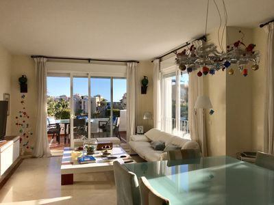Photo for Spacious luxury apartment 130m from the beach