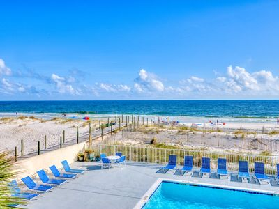 Photo for Gulf Tower 1B ~ Direct Views of Gulf and Pool ~ Bender Vacation Rentals