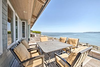 Come relax by the water at this beautiful Indianola vacation rental house!