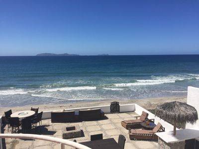 Photo for Henry's Beach House - Oceanfront Luxury Home Rosarito