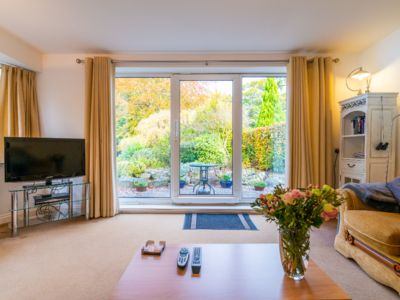 Photo for Luxury, ground floor, garden apartment in a leafy Stockport suburb