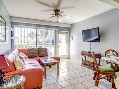 Photo for Gulf Coast condo w/ a shared pool & furnished patio - short walk to the beach!