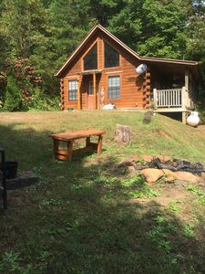 Photo for Dream Log Cabin with Fishing pond/7th nite Free