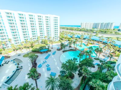 Photo for ☀Palms Resort 2907 Jr 2BR/2BA☀Lagoon Pool- Fit Center- Aug 3 to 5 $840 Total!