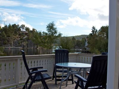 Photo for Small holiday house for up to 4 people at the Trysfjord south of Kristiansand
