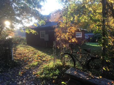 Photo for Cozy cottage with lake view. Mysigt torp directly vid sjö och nature reserve