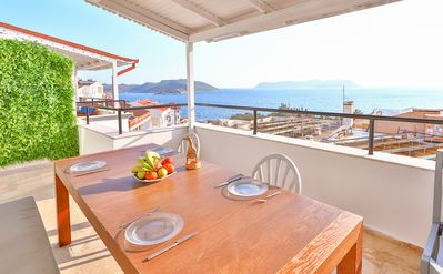 Photo for 1BR Apartment Vacation Rental in Kaş, Antalya