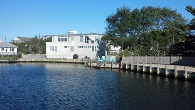 Photo for Waterfront, 3BR/2.5 bath, short walk to beach or Bay, Custom designed home, AC